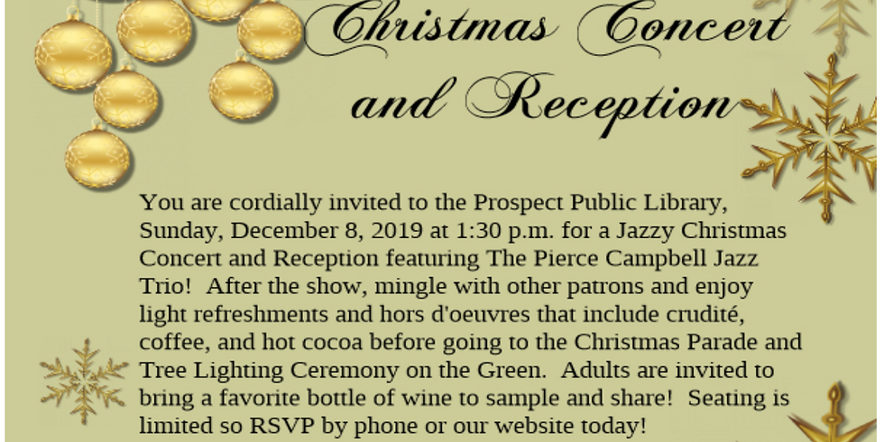 Christmas Concert and Reception
