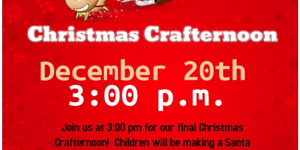 Christmas Crafternoon: Santa Pull-back Sleigh