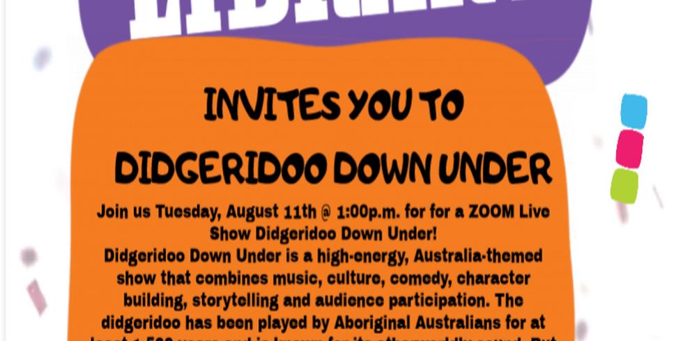 LIVE: Digeridoo Down Under