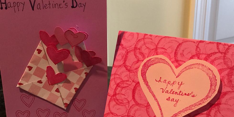 Kids' Hand-Made Valentines (5+)