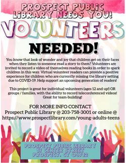 FLYER-Volunteer to be a Virtual Reader