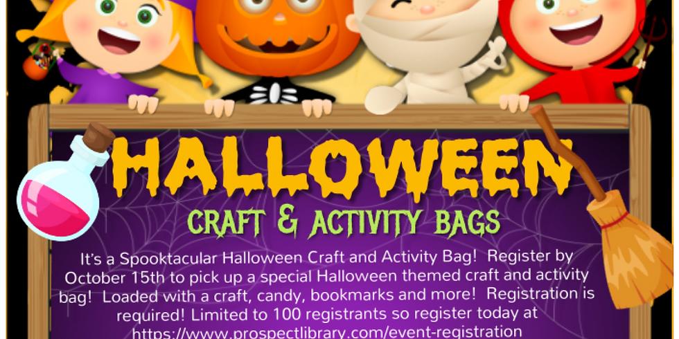 Spooktacular Halloween Craft and Activity Bag!