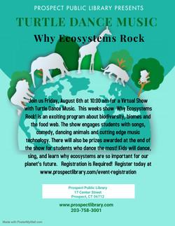 Turtle Dance Ecosystems 8-6-21