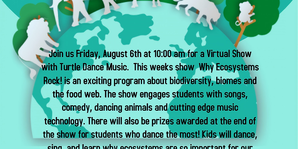 """Turtle Dance Music """"Why Ecosystems Rock!"""" - Virtual Show"""