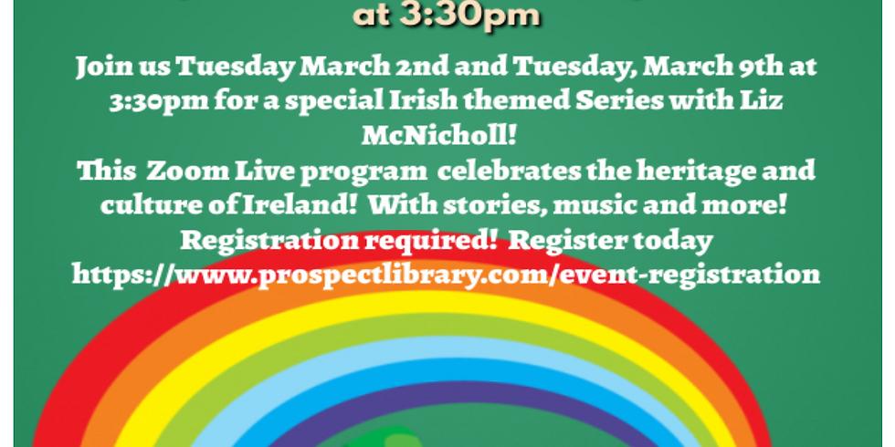 Liz McNicholl Exploring Ireland- Week 2