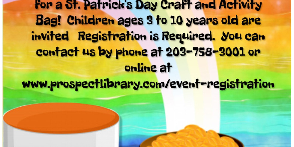 St. Patrick's Day Craft & Activity Bags