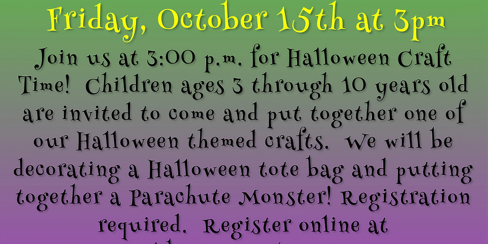 Children's Halloween Craft