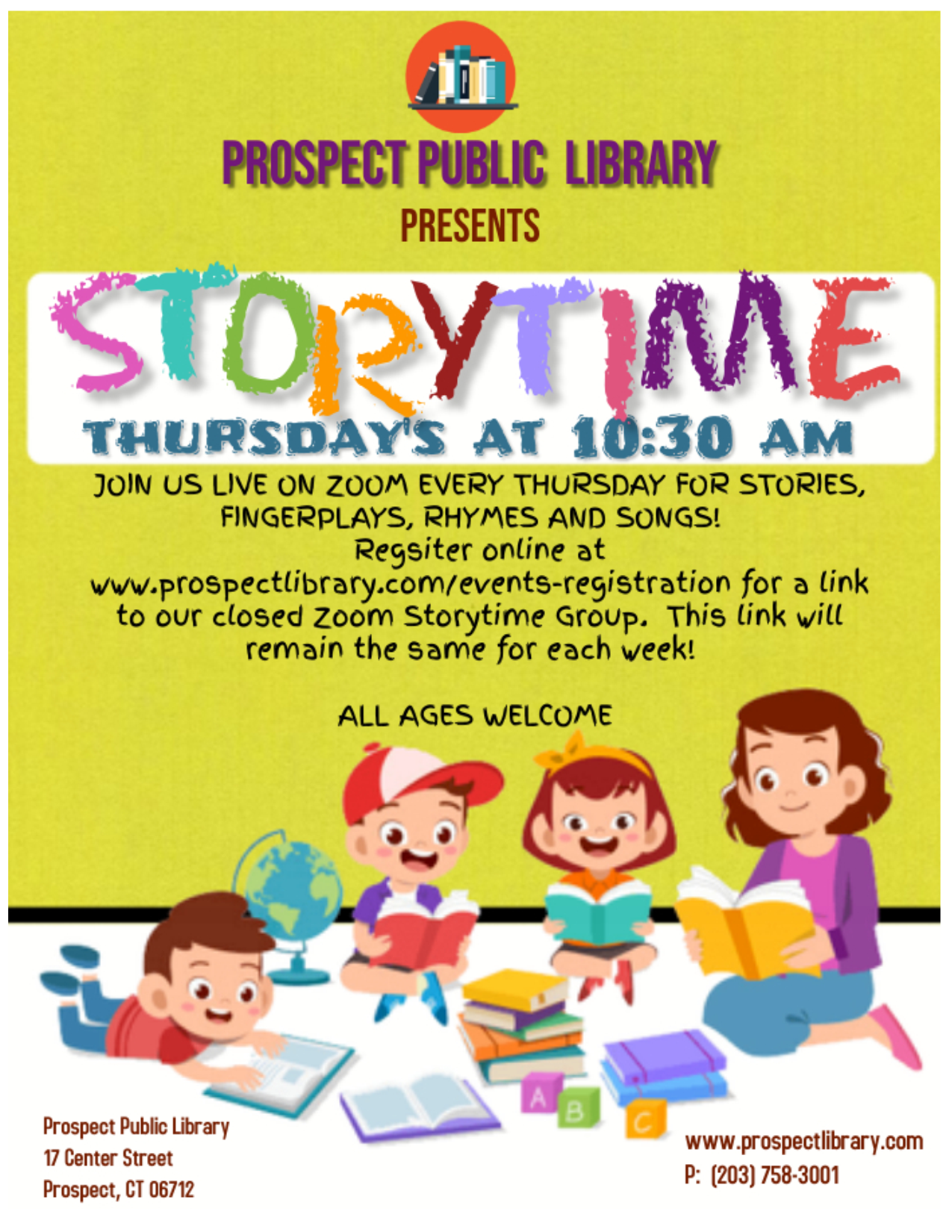 FLYER-ZOOM Storytime Dec 2020
