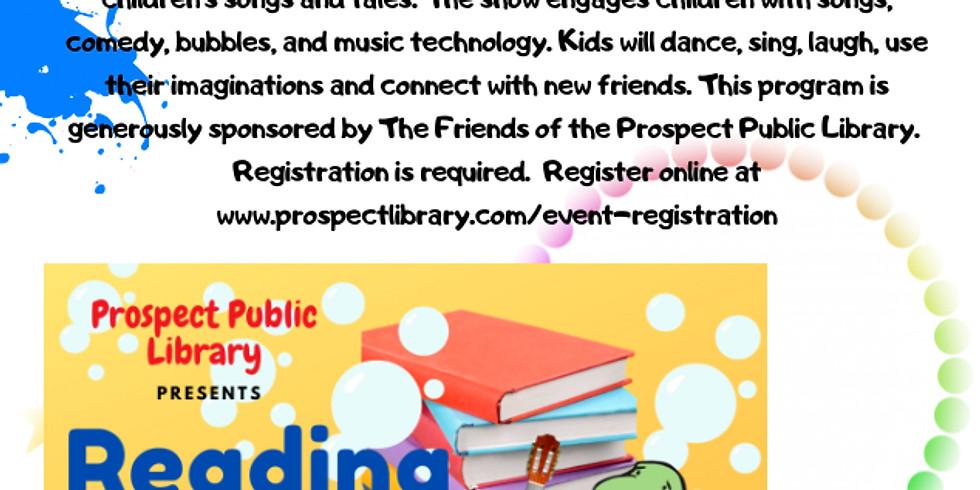 "Turtle Dance Music ""Reading Rocks!"" - Virtual Show"