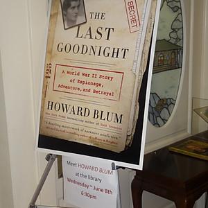Howard Blum Book Talk