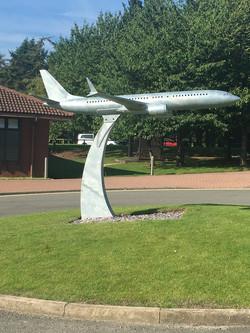 plane sculpture
