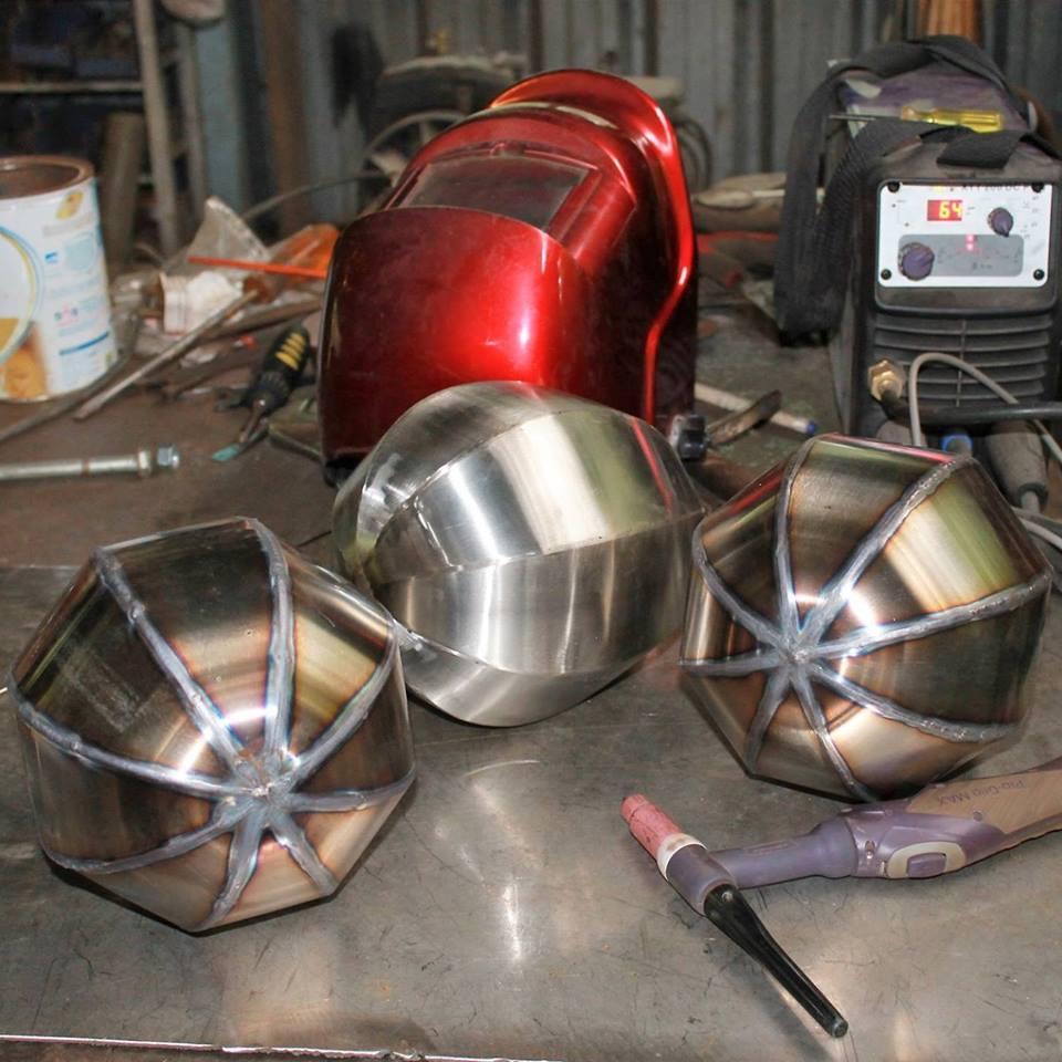 welding coconuts