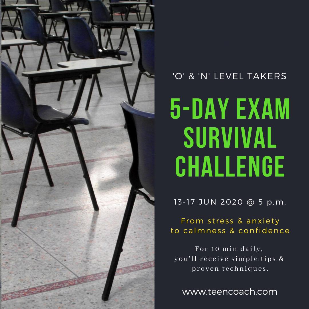 5-Day Exam Survival Challenge