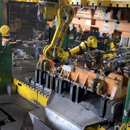Robotic Press Transfer