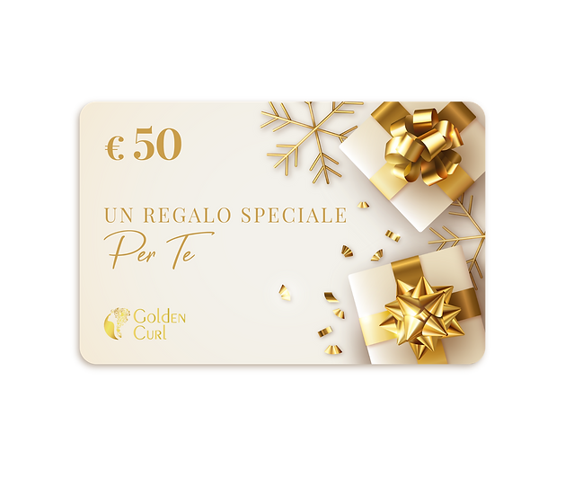 GIFT CARD GOLD - VALORE € 75