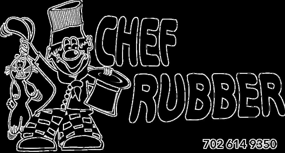 Chef Charity sponsor Chef Rubber logo