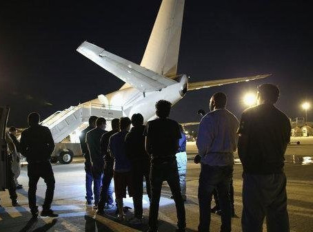 Taken in the night & put on plane cuffed to security guards despite injunction stopping deportat