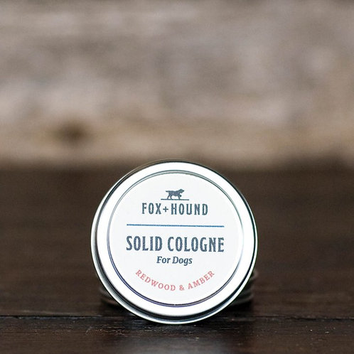 Redwood & Amber Solid Cologne For Dogs