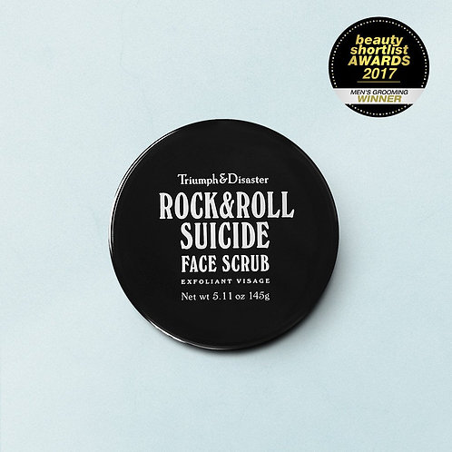 Rock & Roll Suicide – Volcanic Ash & Green Clay Face Scrub