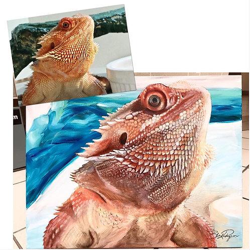 Detailed Pet Portrait
