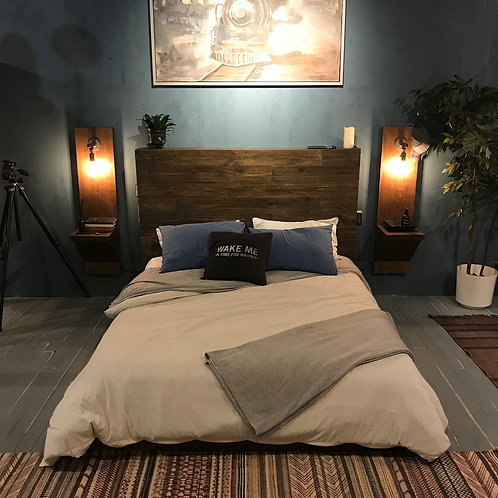 Custom King Bed