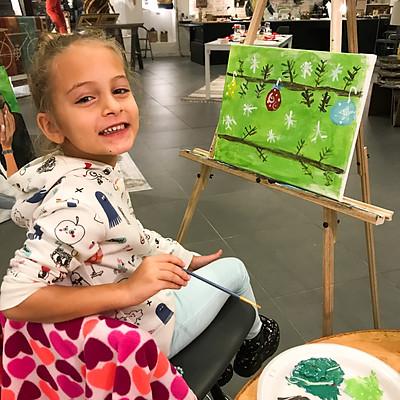 Kid's Paint Class