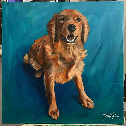 Expressionist Pet Portrait