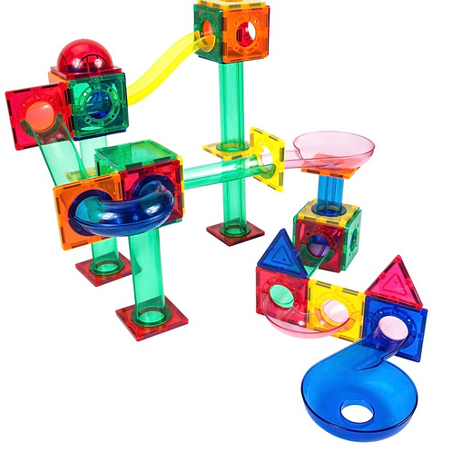 70 Piece Marble Run Magnetic Building Block Set