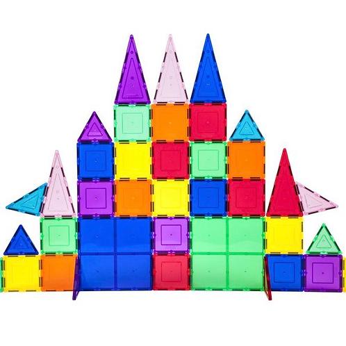 80 Piece 3D Magnetic Building Blocks