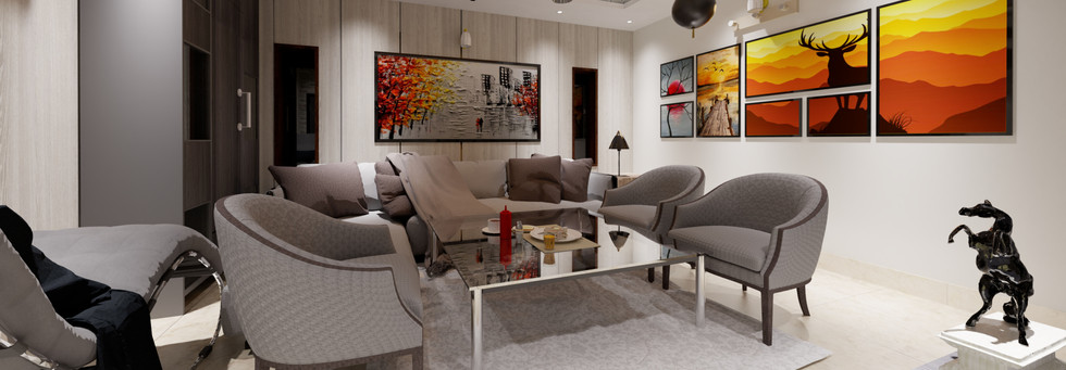 Entry Level Interior by RAMA