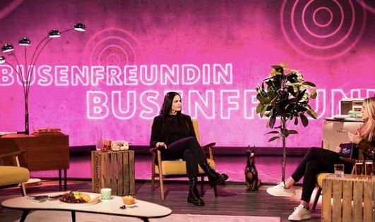 Interview für das Magazin Busenfreundin