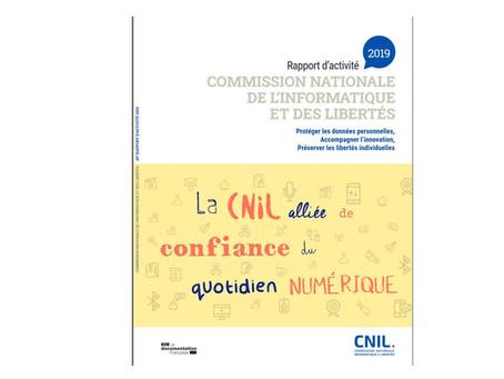 Rapport d'activité de la CNIL 2019