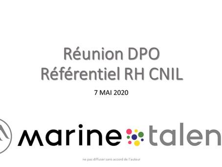 Référentiel RH CNIL  : les points essentiels et les questions qui se posent.