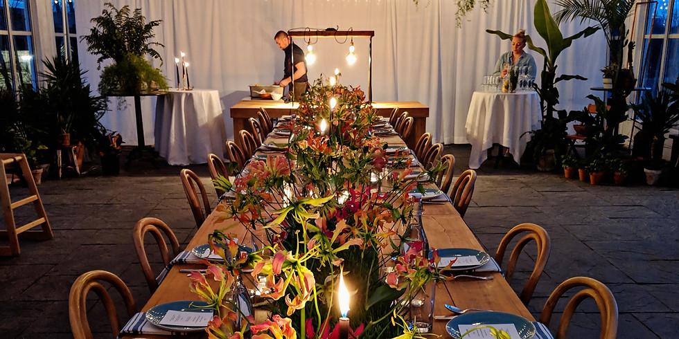 DINNER IN BLOOM