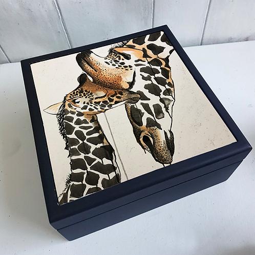 Giraffe Love Jewellery Box