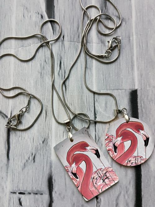 Flamingos Necklace