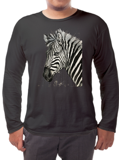Zebra Long-sleeved Tee's