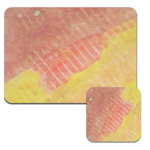 Linear Reds Coasters