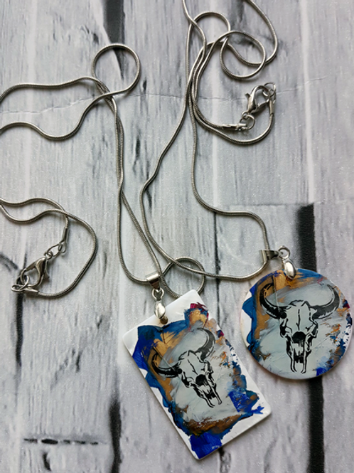 Blue Sid Necklace