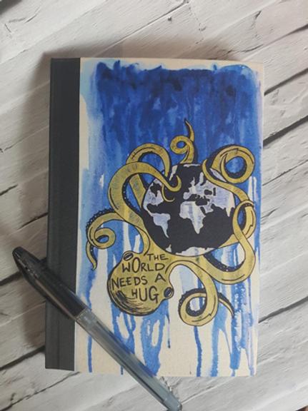 The World Needs a Hug Notebook