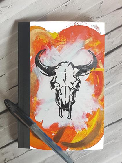 Orange Sid Notebook