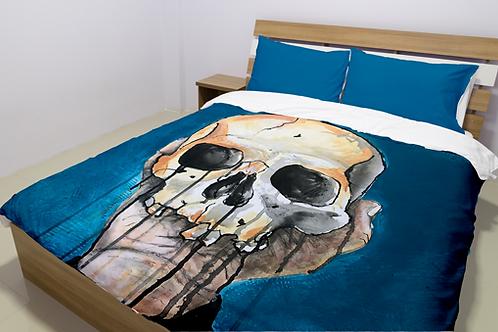 Blue Skull Bedding Sets
