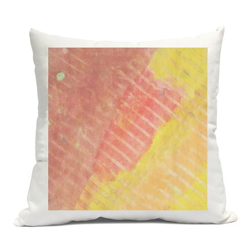 Linear Reds Cushion