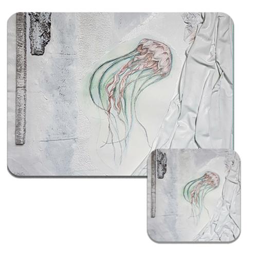 Jellyfish Coasters