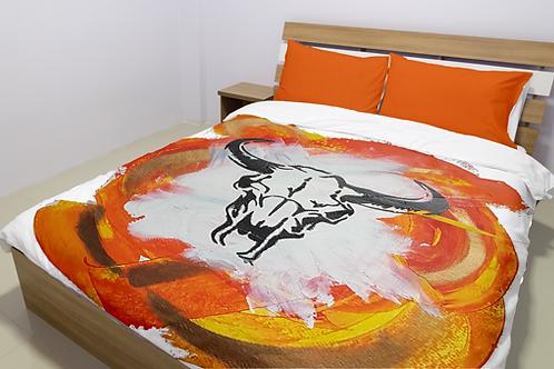 Orange Sid Bedding Sets