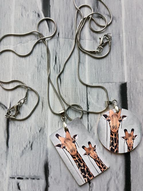 Giraffes Necklace