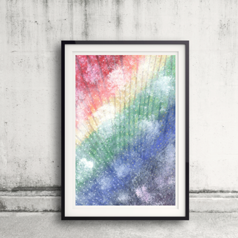 Rainbow Clouds Notebook