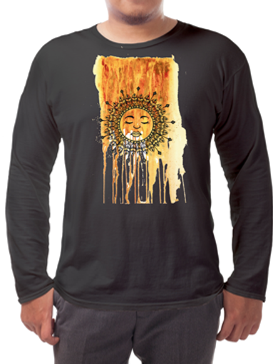 Rise with the Sun Long-sleeved Tee's