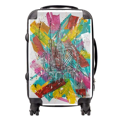 London Suitcase  / Cabin Bag