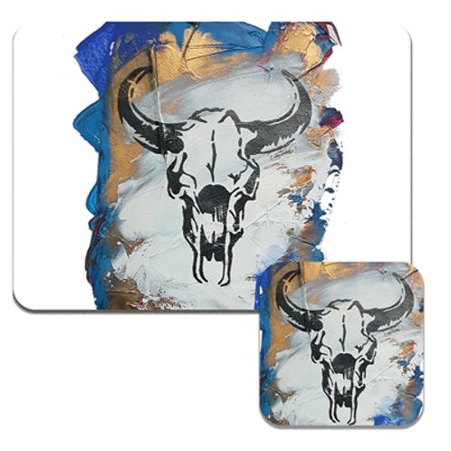 Blue Sid Coasters